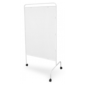 Metal screen I with PVC panel