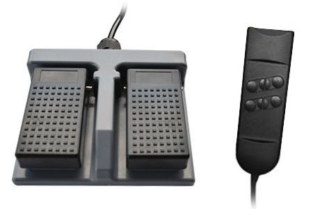 Foot remote control with hand remote control (EUR 41,63)