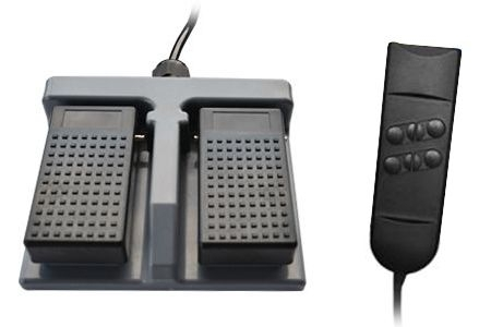 Foot remote control (height adjustment), hand remote control (backrest adjustment) (EUR 26,19)
