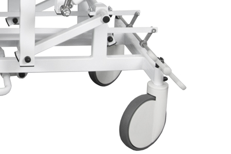 Casters with central locking system - Casters diameter 20 cm (EUR 305,35)